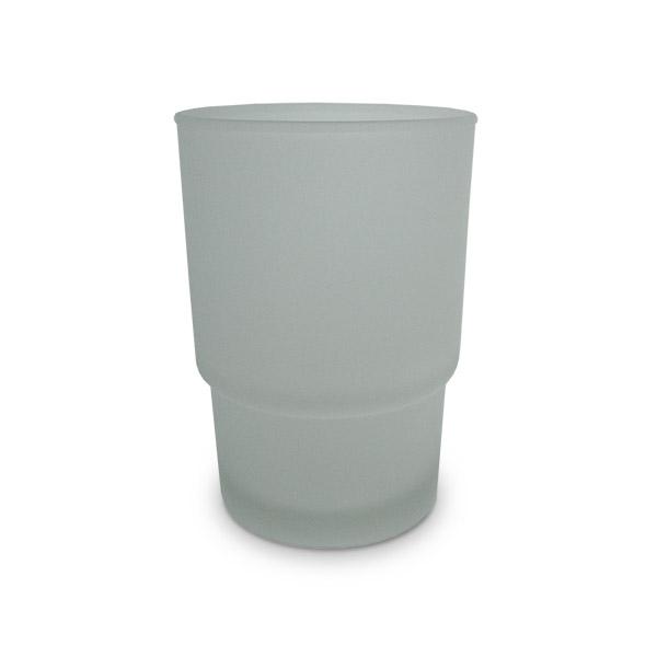 REPUESTO Vaso Esmerilado /h: 9,7cm  Ancho superior: 7cm  Ancho inferior: 5,3cm