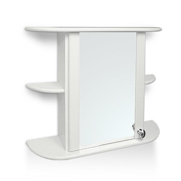 BOTIQUIN Venecia Laq. Blanco 65cm x 55cm h / 17cm Prof.