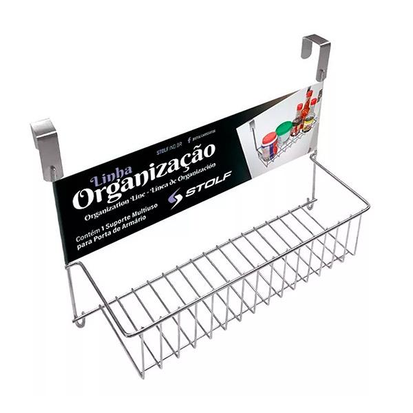 CANASTO Multiuso p/Puerta Metal 30*9cm/19.5cmH