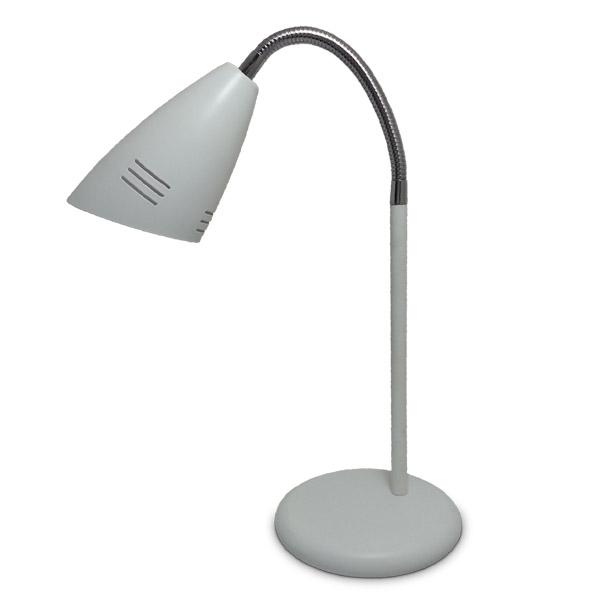 Lampara de mesa Blanca Cuello Flex. E14 (Ø 14cm/37cm h)