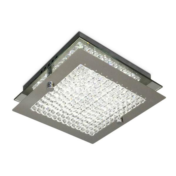 Aplique Cronos LED 1 x 5w Caireles Cristal 17*17cm / 6cm h