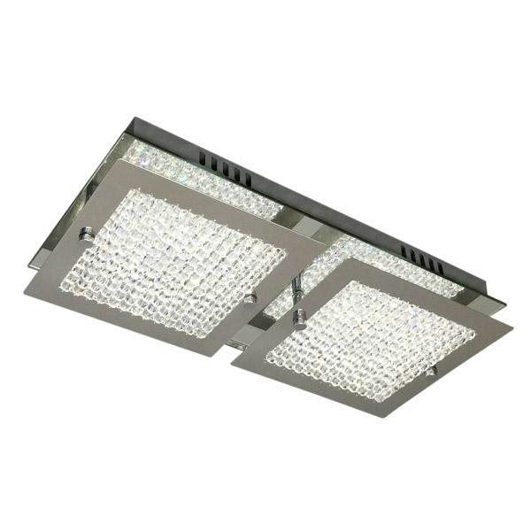 Aplique Cronos LED 2 x 5w Caireles Cristal 36*17cm / 6cm h