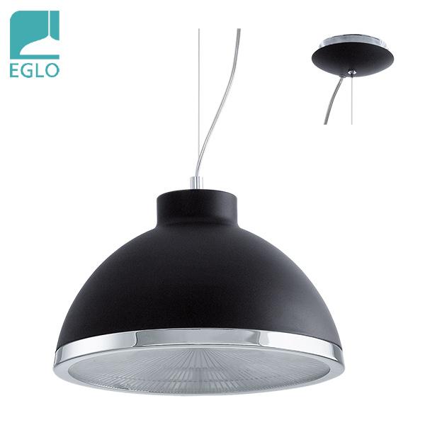 COLGANTE Debed Negro 1 Luz E27 EGLO 35cm Ø / 110cm h