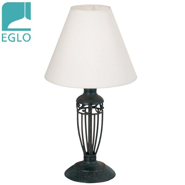 Lámpara de Mesa Antica 1 Luz E14 Hierro Café Ø 12cm / 38.5cm h EGLO