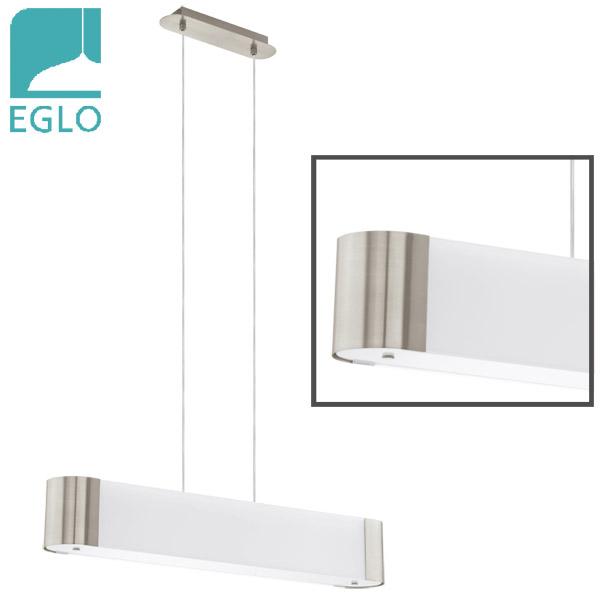 Colgante Bodio 5 Luces G9 Niq.Mate/Vidrio EGLO 74cm L / 10.5cm h (110cm h total)