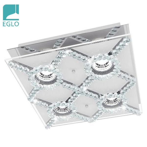 Centro Novorio 4 Luces GU10 Led 3w  29x29/7.5cm H EGLO