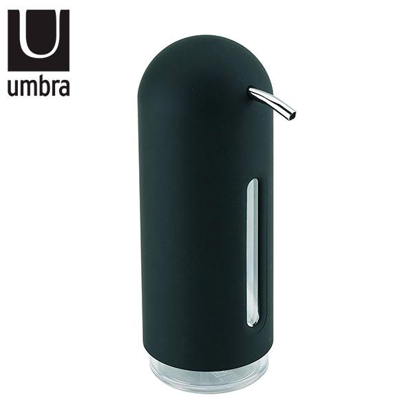 DISPENSADOR Jabon Liquido Ping Negro UMBRA 7cm Ø / 20cm H