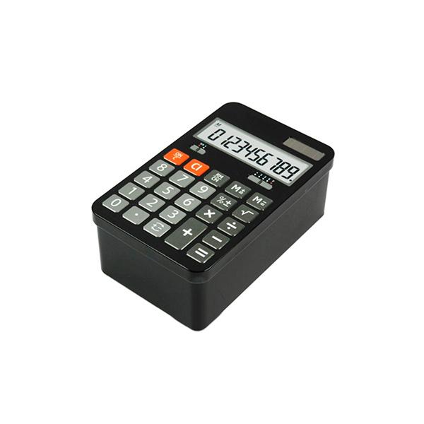 CAJA Metalica Rectang. Calculadora 19x12x7h