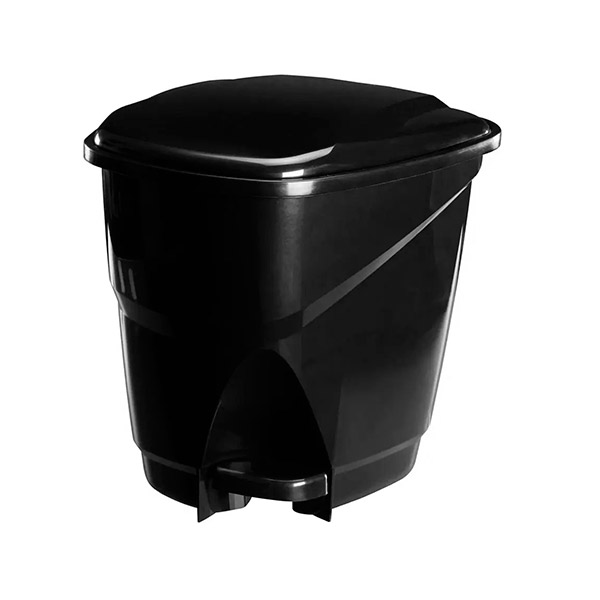 CESTO c/Pedal 16 lts Negro Astra 31*34/34h