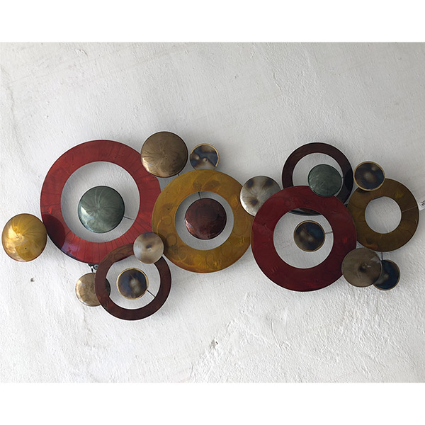 APLIQUE Decorativo Circulos de Pared