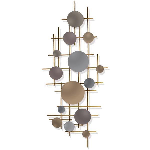 APLIQUE de Pared Espejos metal 100x45cm
