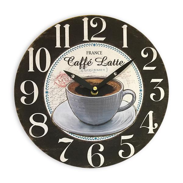 RELOJ de Pared Coffee Latte 28cm.