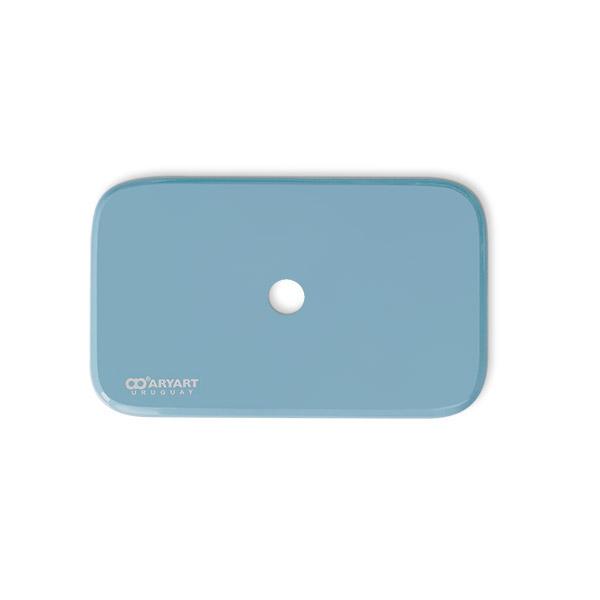 TAPA CIsterna Azul 62 Celeste