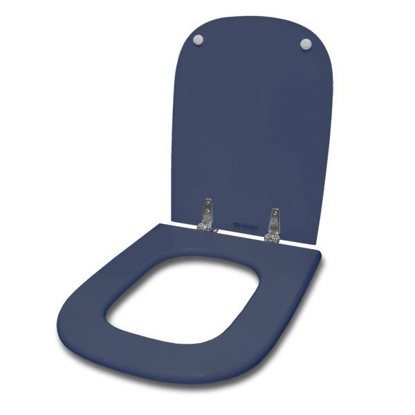 TAPA WC Mad/Laq Herr/Metal Cuadrada Az Piedra