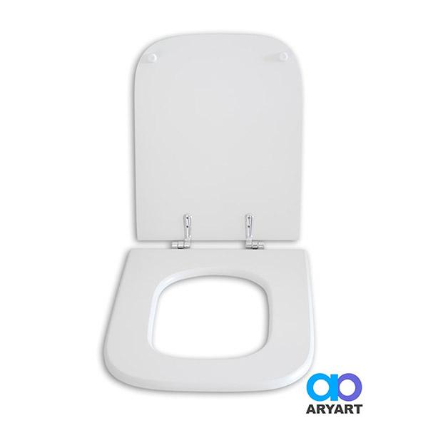 Tapa WC Mad/Laq Herr/Metal Baltico Blanco