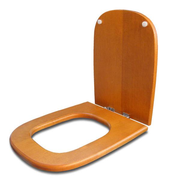 TAPA WC Madera Herr/Metal Cuadrada Cerejeira