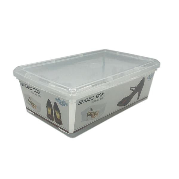 Caja Organizadora Transparente 20x33x10.5cm