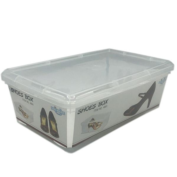 Caja Organizadora Transparente 26.5x39.5x13cm