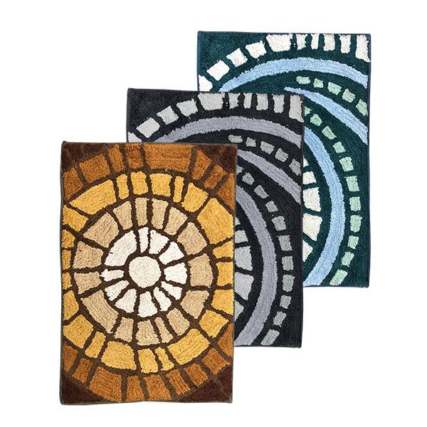 ALFOMBRA 40x60 Algodon c/Goma Diseños