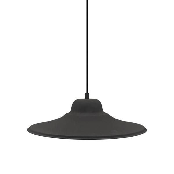 CAMPANA Fija Chapa Negra Ø36cm