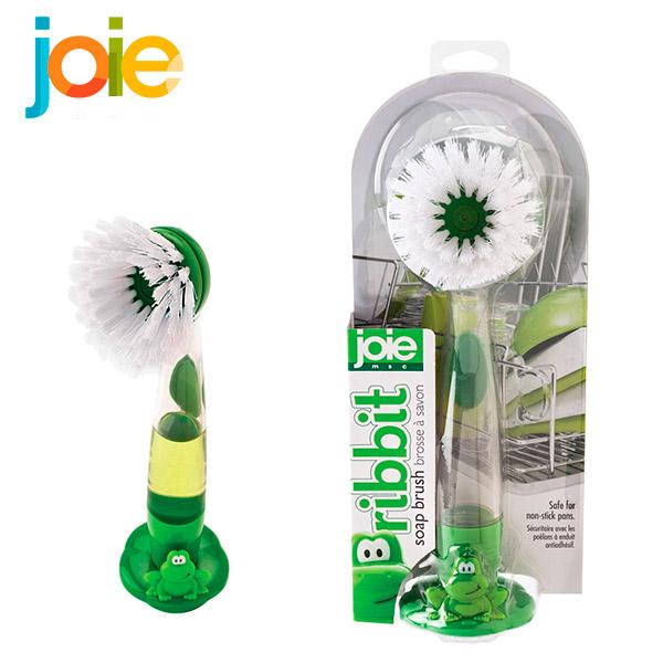 JOIE Cepillo Dispensador de Jabon/Platos Rana
