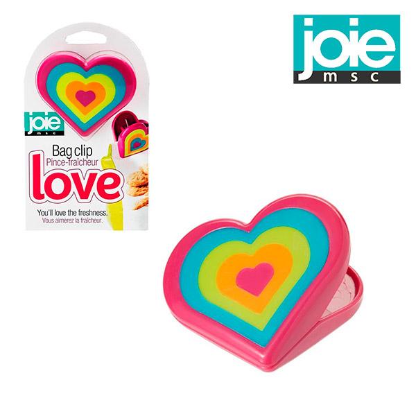 JOIE Clip p/bolsas forma Corazón