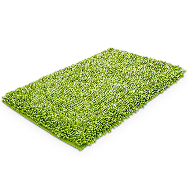 Alfombra Chenille Verde 40x60cm