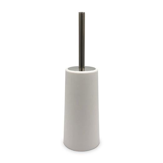 ESCOBILLA para Inodoro BLANCA Ø 10.5cm/39cm h