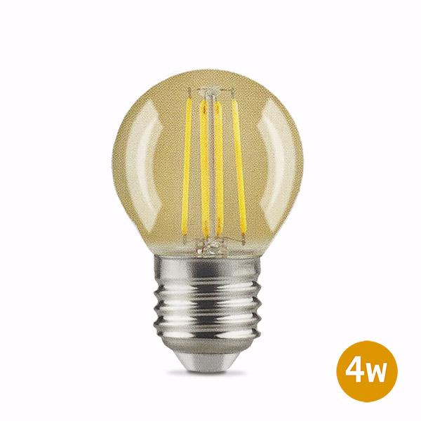 Lámpara LED 4w Gota Vintage Ambar