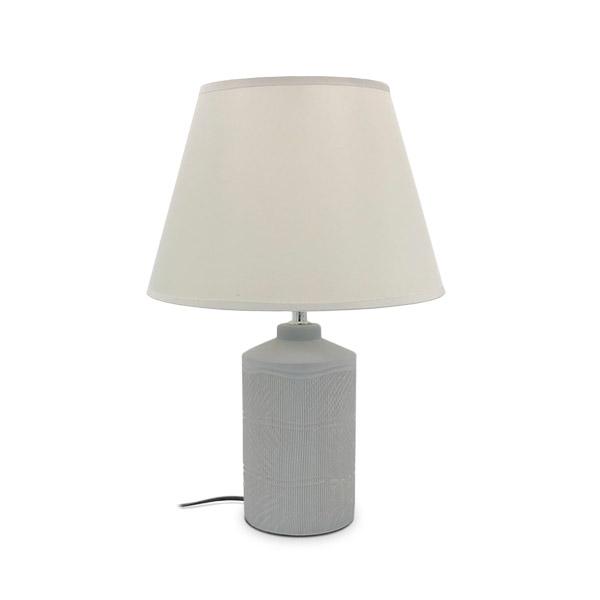 LAMPARA Ceramica c/Pantalla Tebas 44cm h