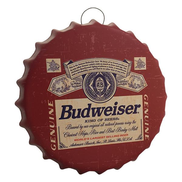 CHAPA Tapa Budweiser Genuine 35cm  Ø