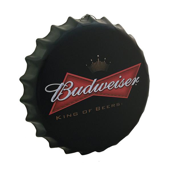 CHAPA Tapa Budweiser King of Beers