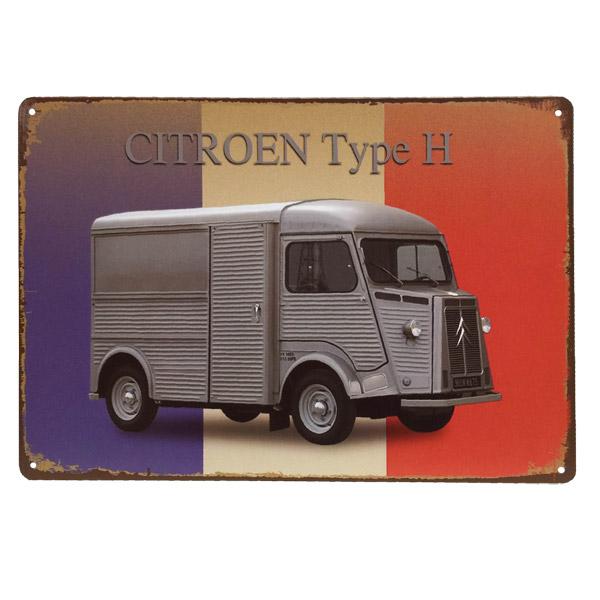 CHAPA Citroen 20x30cm