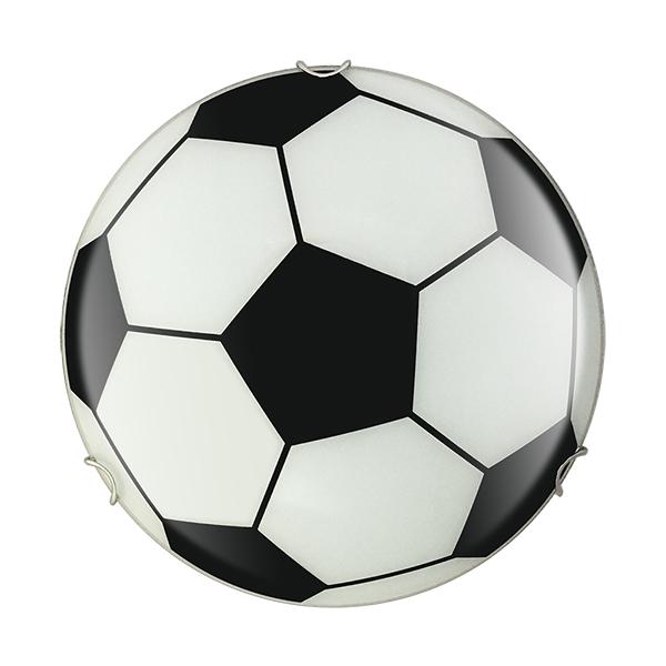 PLAFON 2 Luc. E27 Pelota de Futbol Ø30cm