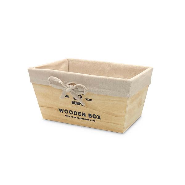 Caja Organizadora Chica Natural Deco 22x13x11cm
