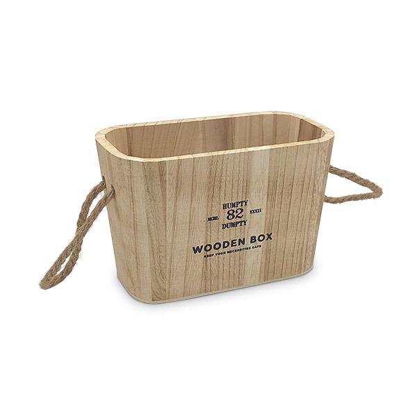 Caja Organizadora Chica Natural Deco 21.5x11x14cm