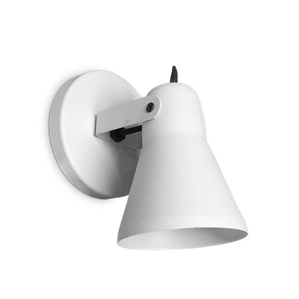 SPOT 1 Luz E27 Blanco Copa Ø 11cm / 11cm H