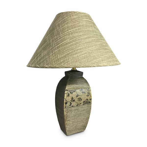 LAMPARA Cerámica c/Diseños Otoño 44cm de altura