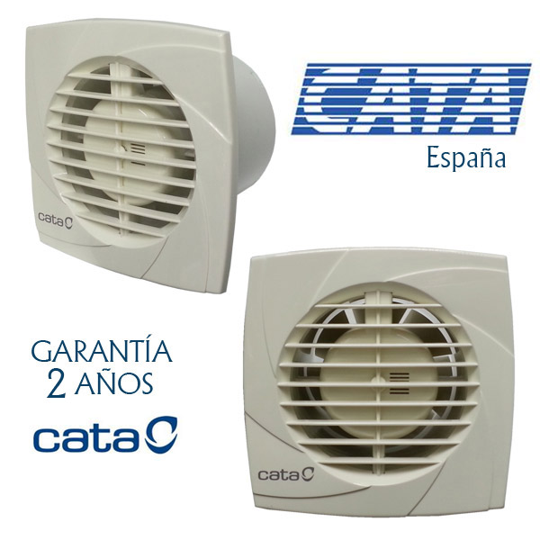 EXTRACTOR CATA Blanco Plus 10 - 98m3/h - 2500 rpm -15w consumo