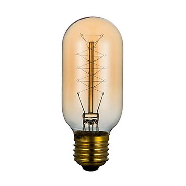LAMPARA E27 60w Filamento Incand. Ambar