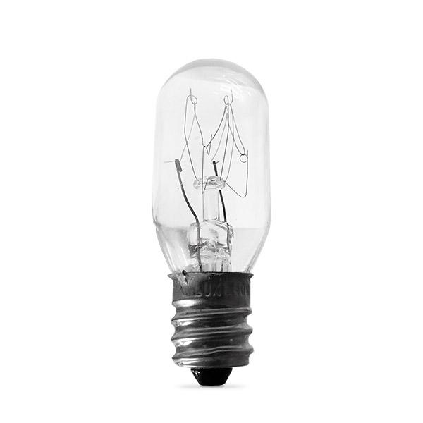 LAMPARA E12 15w Extra Mignon Incand. p/LAMP. SAL