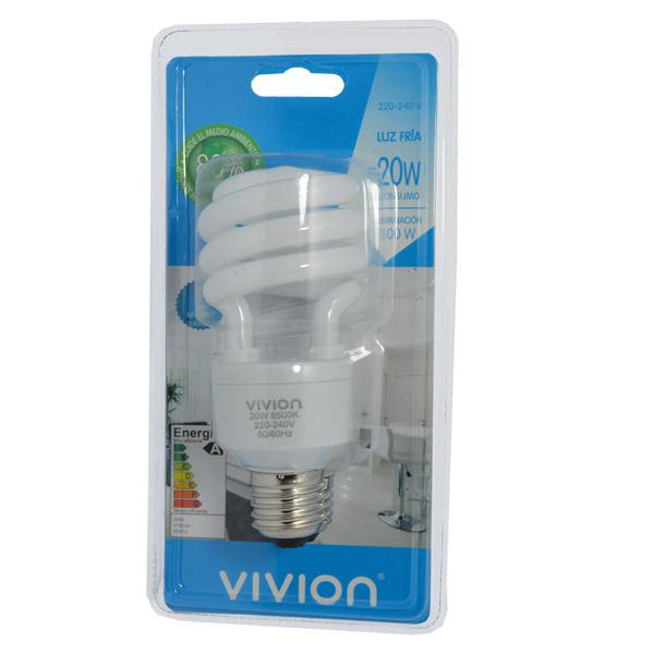 LAMPARA BC 20W E27 Fria Vivion