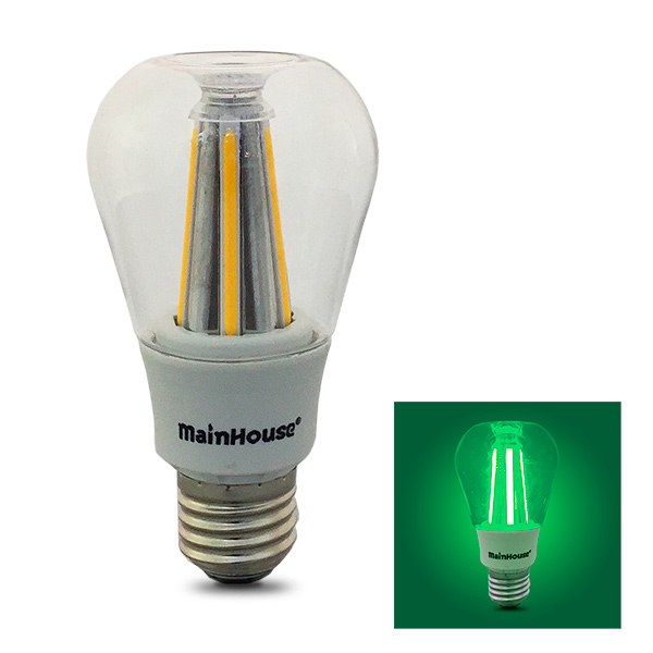 LAMPARA Led E27 8w Incandescente Vintage Verde