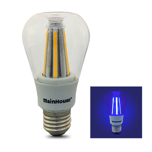 LAMPARA Led E27 8w Incandescente Vintage Azul