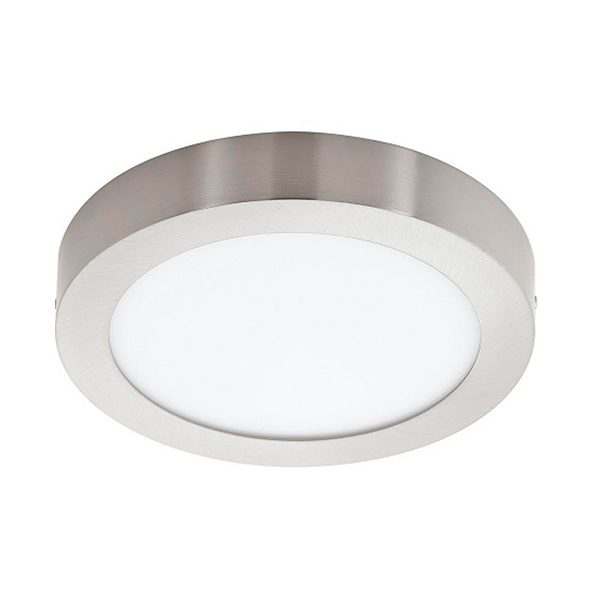 LED Plafon Red. 18w Acero Frio Ø 21.5cm