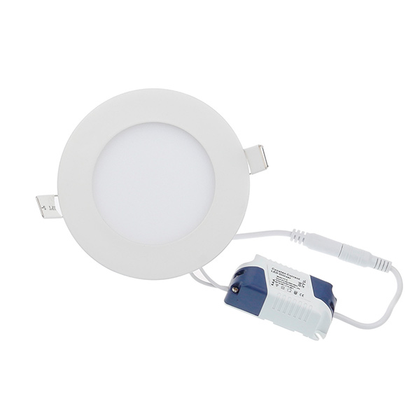 LED Emb. Red. 6w Frio Ø12cm Blanco 11cm Ø Hueco